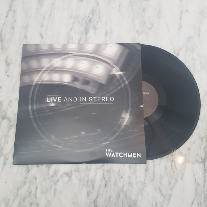 The Watchmen Live And In Stereo Vinyl